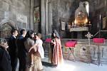 Památka na seznamu UNESCO, klášter Geghard.