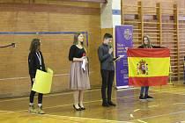 Na uherskohradišťskou školu Unesco zavítalo v pondělí 11. února celkem jednadvacet žáků a učitelů ze čtyř zemí Evropy - Španělska, Litvy, Portugalska a Rumunska.
