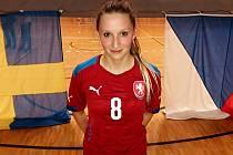 Fotbalistky Slovácka Irena Sedlačíková pomohla českým futsalistkám k výhře nad Švédskem.