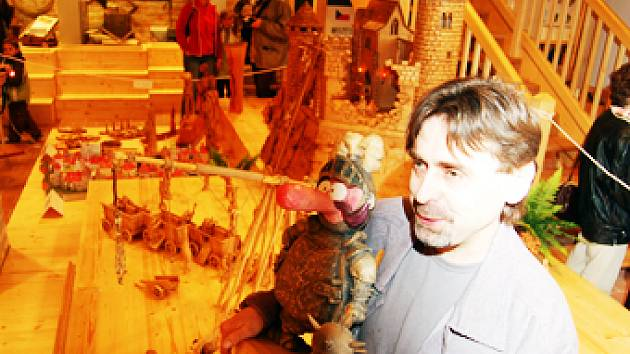 Výjev dobývání hradu sklidil u návštěvníků buchlovického muzea zasloužený obdiv.