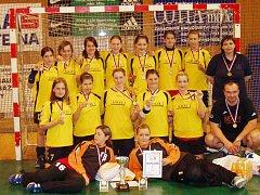 Zlínské naděje zopakovaly úspěch z minulého roku, ve finálovém turnaji podlehly jen Kunovicím.
