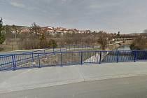 Ulice Podsetky, jejíž část má být v rámci projektu přebudovaná.