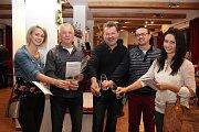 VBoršicích ochutnávali archivní vína zČeska, Slovenska, Maďarska a Rakouska, ale také ocenili šampiony výstavy.