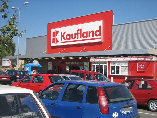 Supermarket Kaufland v Uherském Hradišti.