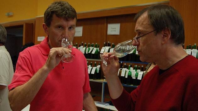 Košt vín. Ilustrační foto