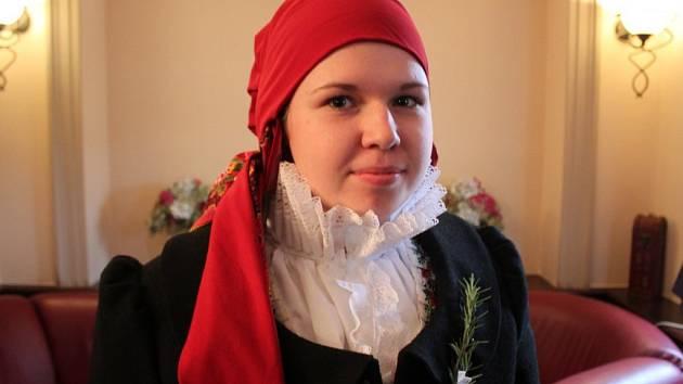 Natálie Svobodová, mladší buchlovická stárka