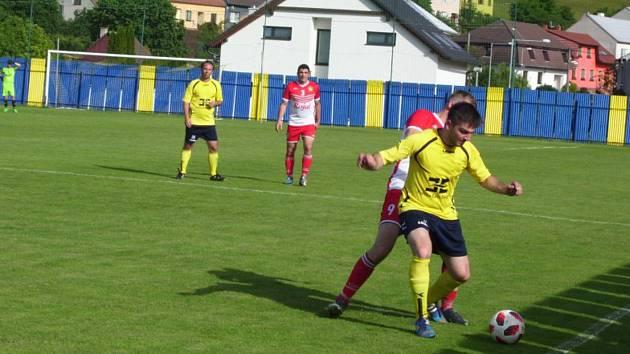 Béčko Strání v posledním zápase letošní sezony prohrálo se Slavkovem 2:4.
