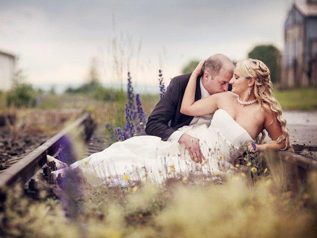 Soutěžní svatební pár číslo 126 - Ivana a Lukáš Pavelkovi, Holešov.