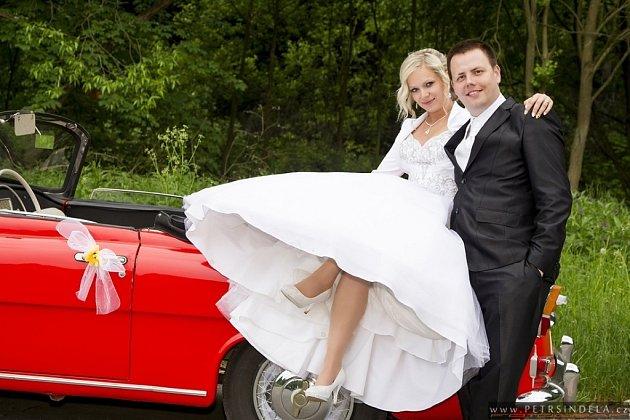 Soutěžní svatební pár 83 - Lenka a Jakub Rudolfovi, Olšovec.