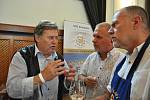 Slovácké slavnosti vína a otevřených památek 2021. Výstava regionálních vín v Redutě.