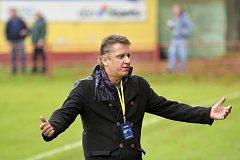 Náročnému trenérovi fotbalistů Uherského Brodu Martinu Ondovi schází k úplné spokojenosti dva body.