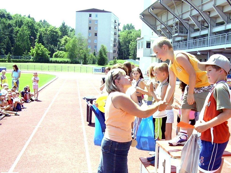 Závody dětí z mateřských škol z celého okresu Uherské Hradiště přinesly spoustu zajímavých a napínavých soubojů.