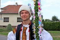 Mladší kostelanský stárek Dominik KRPAL
