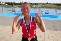 Závodníci z Ostrožské Nové Vsi se v září představili na krátkých tratích v Račicích, na Labi i na vodní nádrži Olešná.
