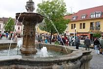 Selský trh v Uherském Hradišti. Ilustrační foto.