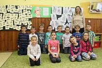1. třída ZŠ Suchá Loz paní učitelky Pavly Chytré.