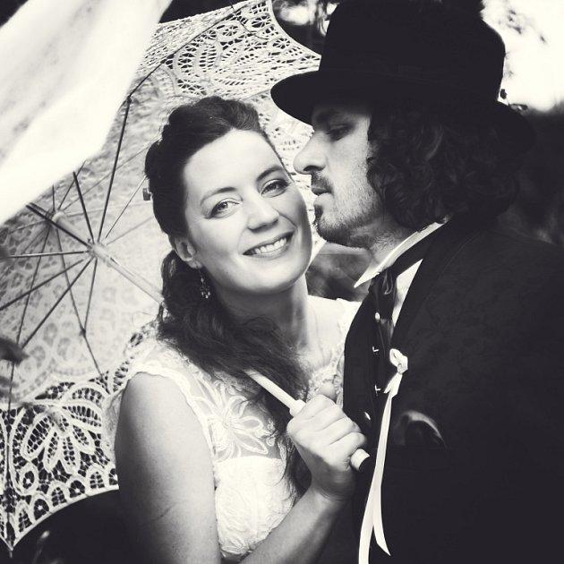 Soutěžní svatební pár číslo 209 - Barbora a Čeněk Koudelovi