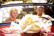 Soutěžní svatební pár číslo 2 - Magda a Marek  Sívkovi , Zlín