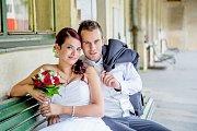 Svatební pár roku 2016, který obsadil 2. místo - Iveta a Bedřich Žižkovi z Přáslavic
