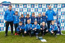 Fotbalové naděje prvoligového Slovácka ovládly finálový turnaj Onrášovka Cupu v kategorii U11