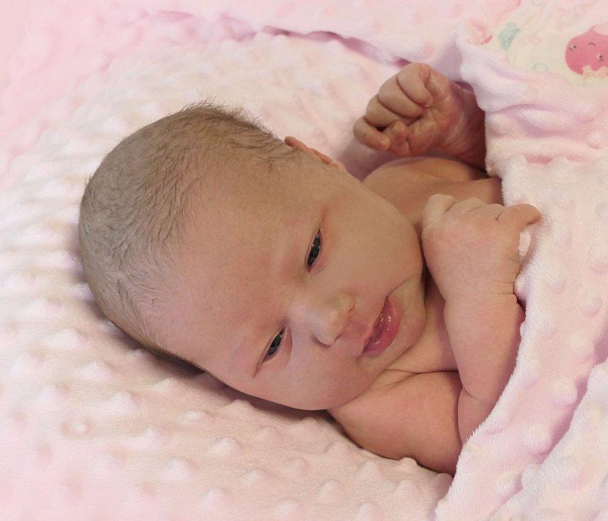 Ella Masaříková, Uherský Brod, narozena 23. prosince 2020 v Uherském Hradišti, míra 49 cm, váha 3390 g
