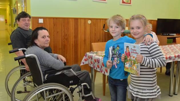Nejmladším dobrovolníkům Uherskohradišťské nemocnice je teprve sedm let.