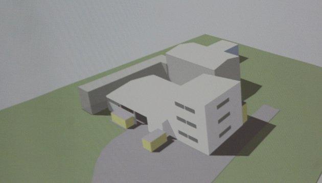 Modernizace spalovny nebezpečných odpadů vUherskohradišťské nemocnici. Prezentace projektu. Jediná momentálně existující vizualizace.