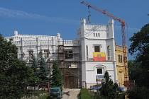 Rekonstrukce zámku Nový Světlov bude mít zpoždění.