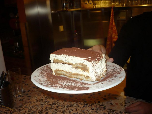 Italské pokrmy připravuje odborník Claudio Rossi.