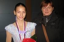 Klára Světlíková porazila kompletní českou špičku a udělala tak radost i své trenérce Svatavě Mazurkové.
