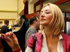 Vyznavači lahodných vinných moků, kteří přišli do KD v Míkovicích pár minut po čtrnácté hodině, v něm jen stěží hledali místo k sezení a vychutnávání si některého z 586 vzorků vína.