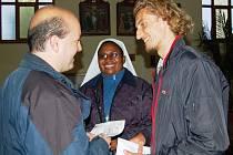 Ondřej Horecký se v úterý setkal i se štědrými dárci pomoci pro aktivity OS Bez mámy.