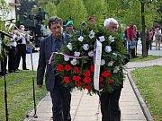 NEZAPOMÍNAJÍ. V Tupesích si připomenuli 70 let od skončení II. světové války.