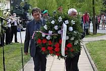 Buchlovičtí si připomenuli 70 let od osvobození obce.