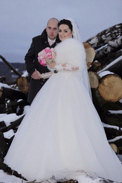 Soutěžní svatební pár číslo 34 - Tereza a Jan Táborští, Teplice nad Bečvou