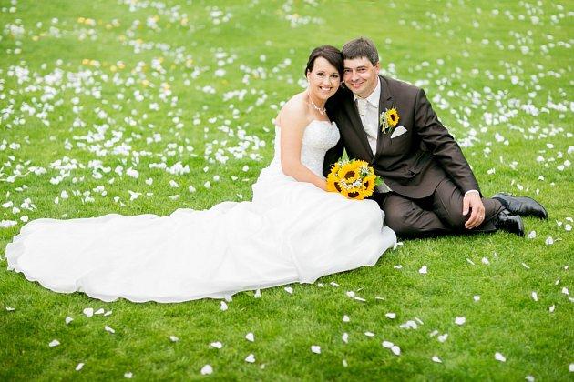 Soutěžní svatební pár číslo 68 - Andrea a Radek Pytolajovi, Skrbeň