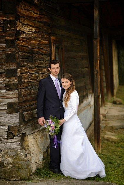 Soutěžní svatební pár číslo 87 - Ludmila a Zdeněk Fiedorovi, Vlachova Lhota