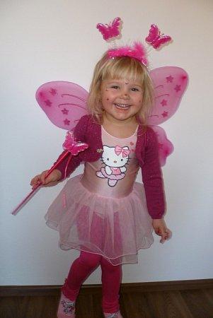 SÁRINKA. Veselý motýlek.