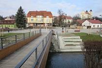 Nové náměstí v Bojkovicích.
