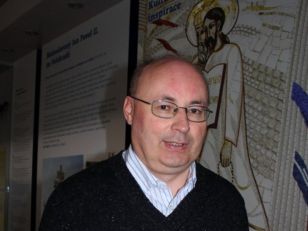 Ředitel Centra Aletti Olomouc P. Pavel Ambros.