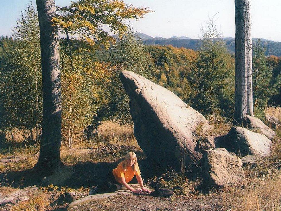 Zikmundova skála v Chřibech.