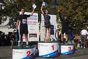 Elitní kategorii mužů-vytrvalců ovládl Tomáš Navrátil před Františkem Jordánem a Janem Maděričem.