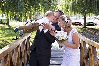 Soutěžní svatební pár číslo 27 - Veronika a Michal Vajdíkovi, Bílovice