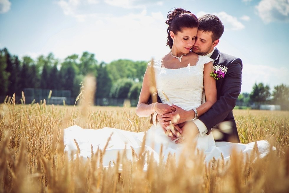 Soutěžní svatební pár číslo 272 - Monika a Filip Komínkovi, Brno.