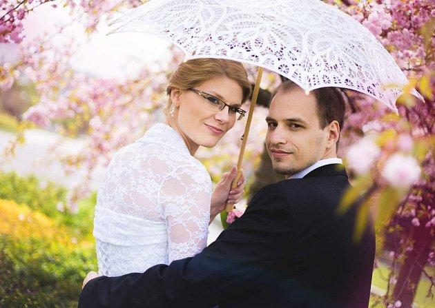 Soutěžní svatební pár číslo 61 - Lucie a Michal Rešovi, Hranice