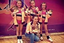 Ve Vídni vybojovala děvčata z DDM Šikula Uherské Hradiště stříbrné medaile.