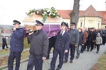 Pohřeb bílovického starosty Jiřího Dohnala