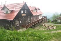 Chata Jana na Vyškovci čeká na své hosty. Ilustrační foto.
