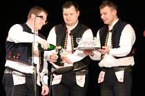 Slavnostní program Muzika pod nohy zaplnil Klub kultury v Uherském Hradišti.