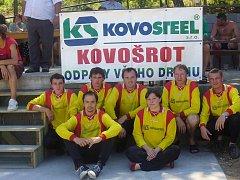 Sbor dobrovolných hasičů v Tučapech.